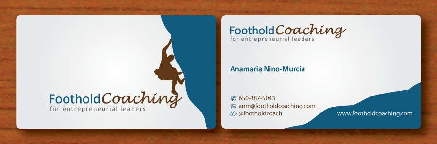 Business Card for Foothold Coaching