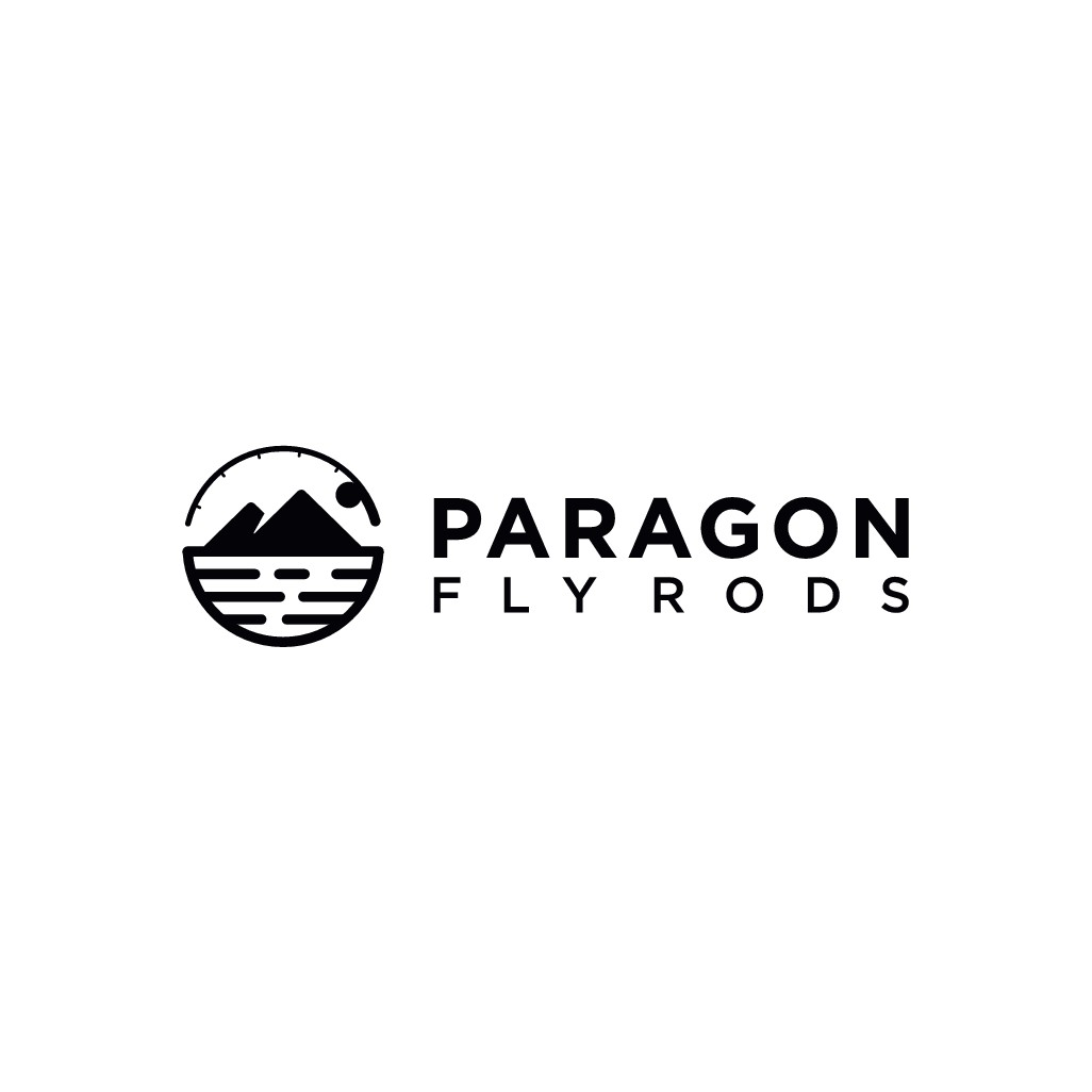 Simple text/image design for Paragon Fly Rods