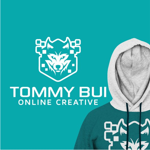 logo concept for tommy bui