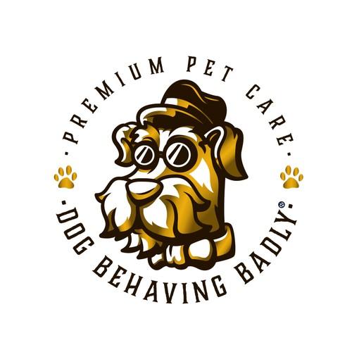 DOG BEHAVING BADLY
