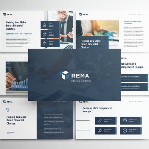 Powerpoint Presentation Template for REMA