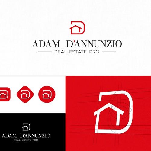 Logo design proposal for a real estate agent.