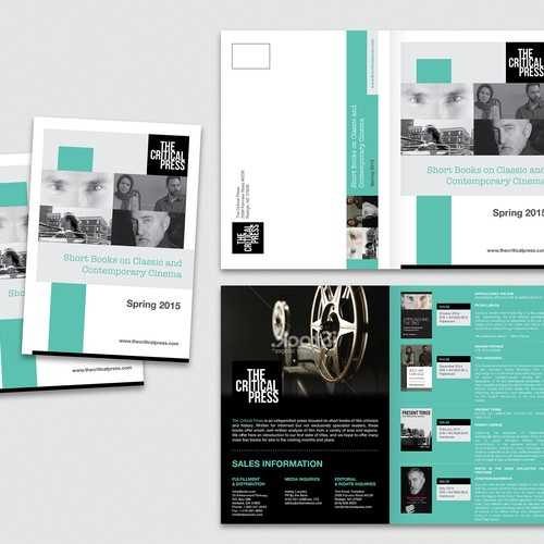 Create a brochure for an independent book publisher