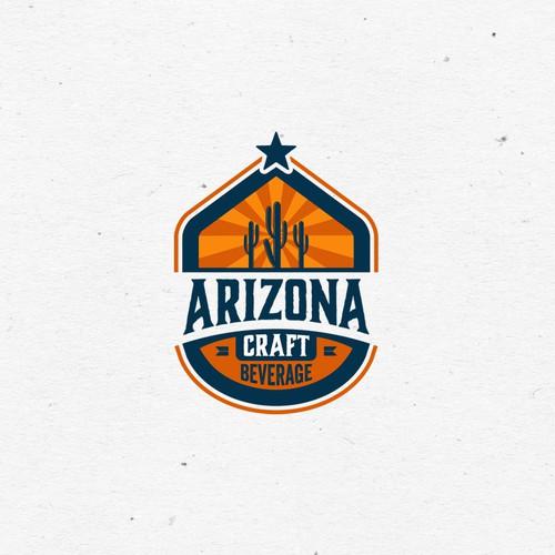 Logo concept for Arizona Craft Beverage