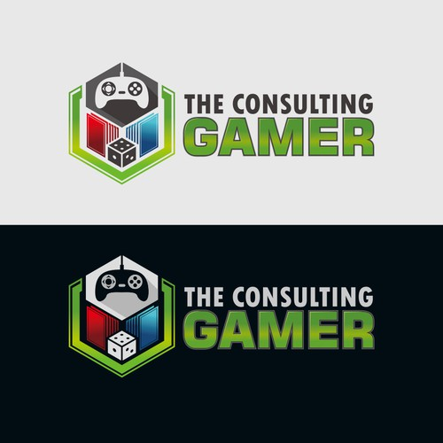Logo concept for The Consulting Gamer