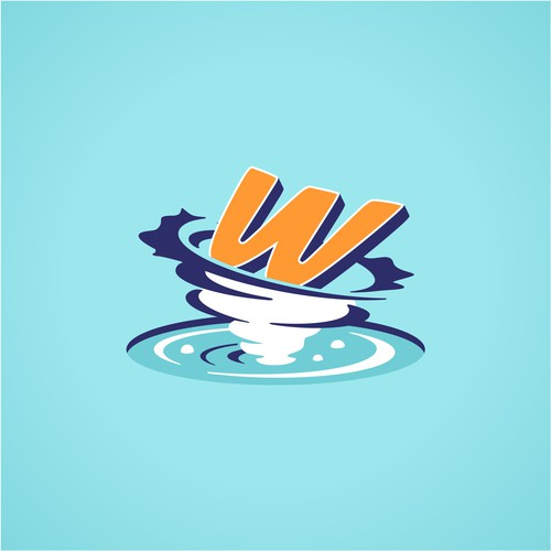 Wordpool logo design