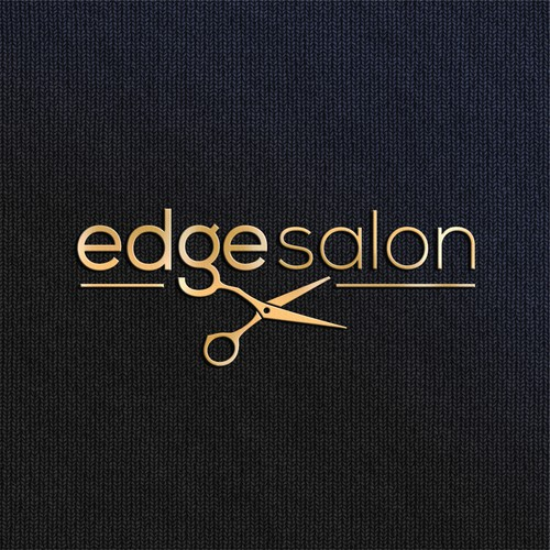Logo design for Edge Salon