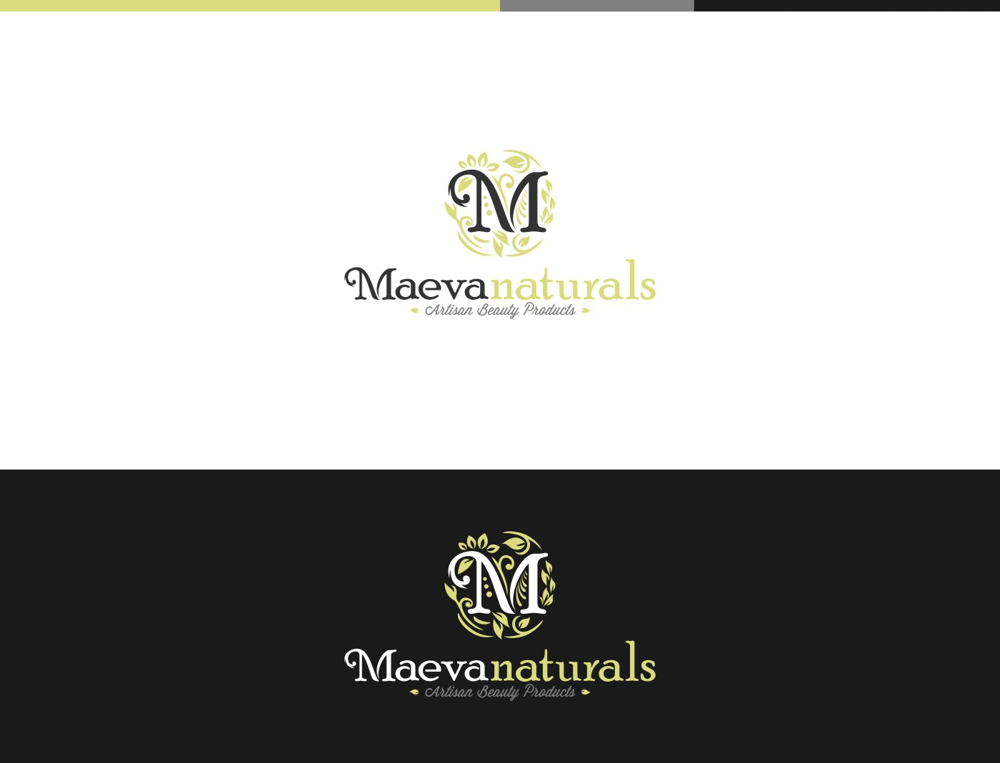 create a logo for a vintage anthropologie type natural soap & beauty product for Maeva Naturals
