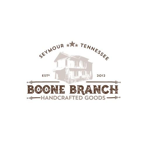 Boone Branch logo design concept