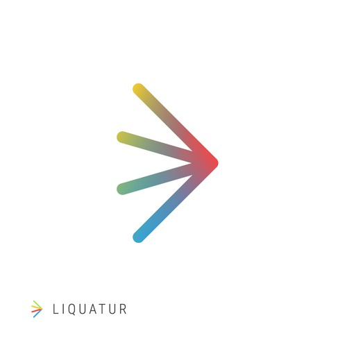 LIQUATUR logo design