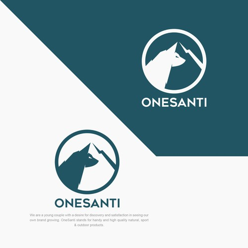 Strong Logo concept for outdoor activities