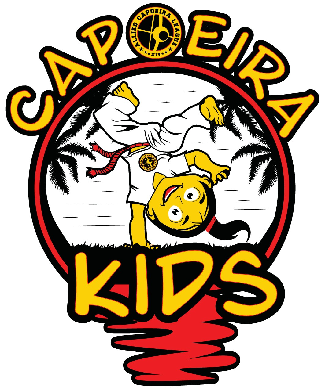 Capoeira martial arts school needs fun kids design!