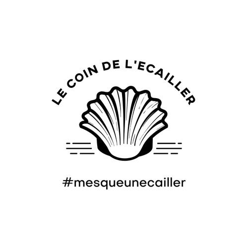 Classic logo design for shellfish restaurant or company