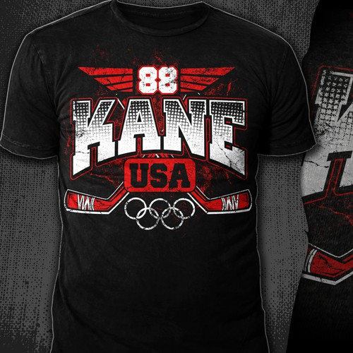 Hockey T-Shirt - READY TO PICK YOUR DESIGN!!