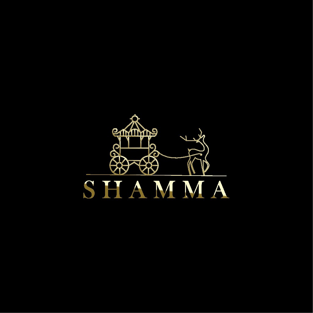 Logo for a luxury fashion brand named Shamma which is an Arabic name that means being proud (don't use Arabic writing)