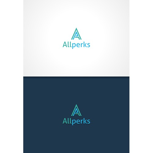 Create a logo branding for Allperks