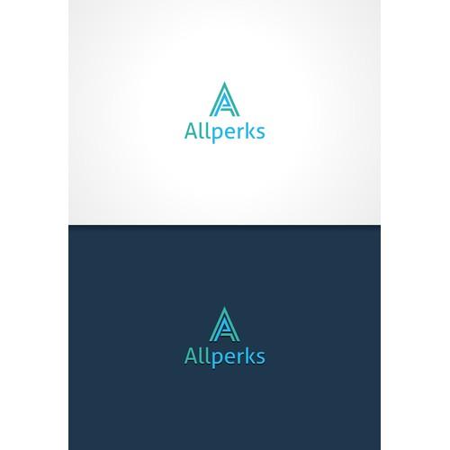 Create a logo branding for Allperks