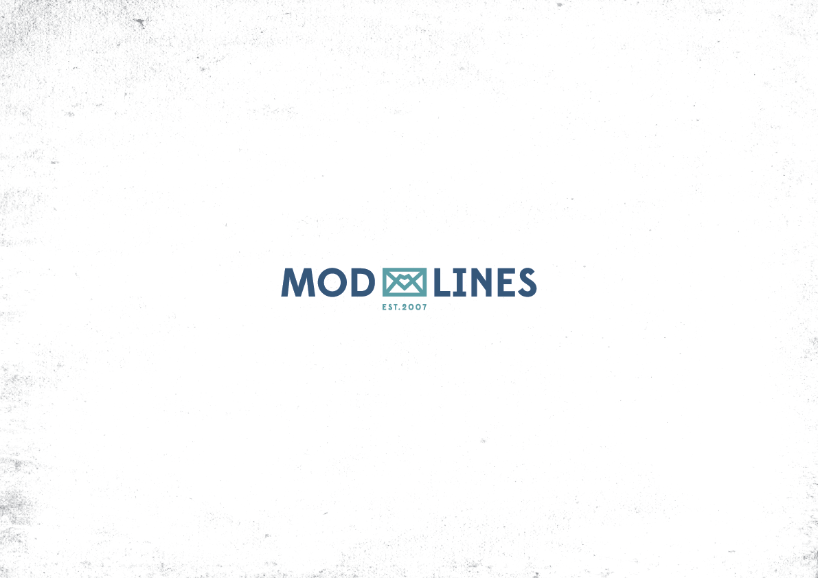 Create a logo for ModLines store, capturing our groundbreaking social mission