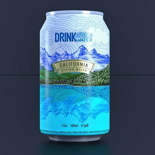 Drink Water design