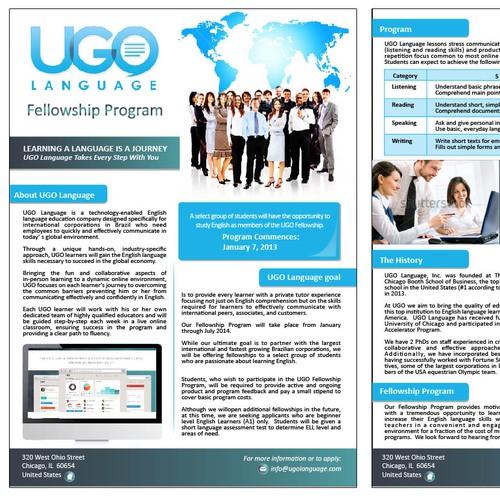 Help us design Education Marketing Flyer. MOCKUP INCLUDED. FAST FEEDBACK :)