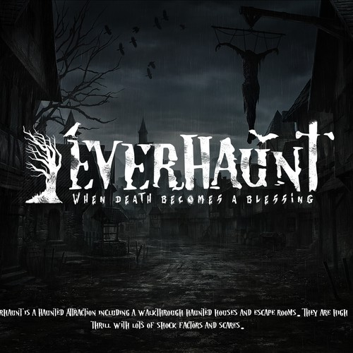EverHaunt logo.