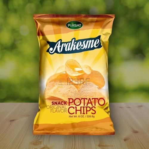 Pellet chips packaging