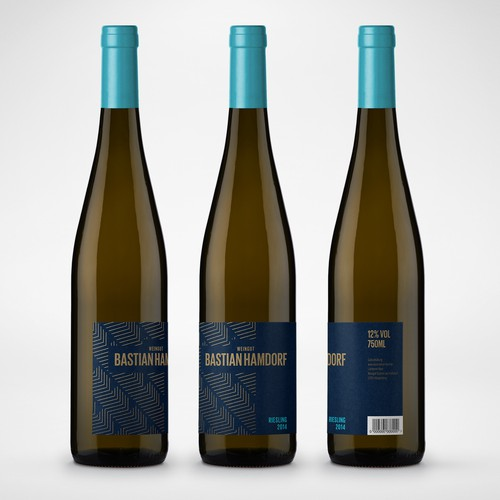 Weingut Bastian Hamdorf Wine label