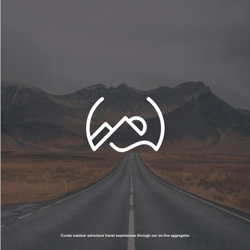 WanderWith Logo Design