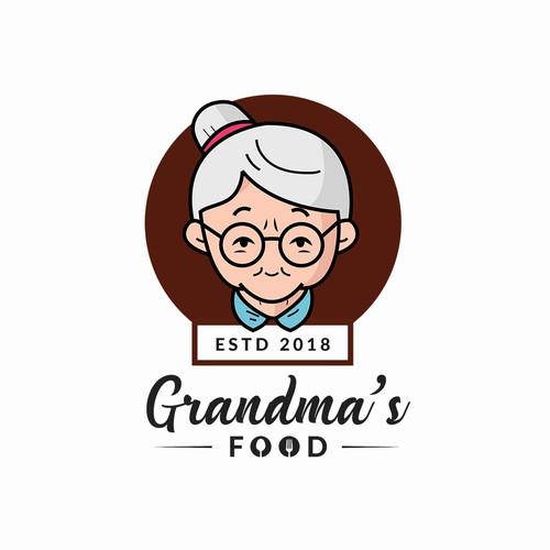 Logo for Grandma's Food Restaurant