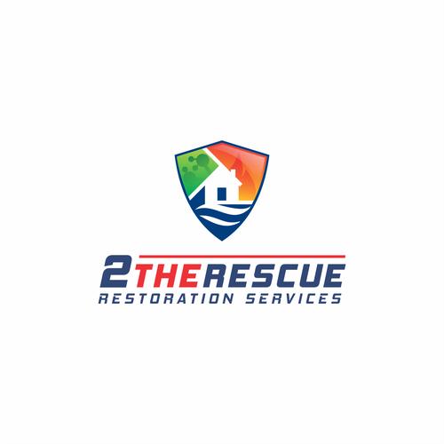 2 THE RESCUE RESTORATION SERVICE LOGO