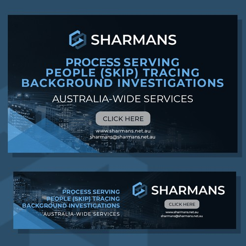 sharmans Banners package