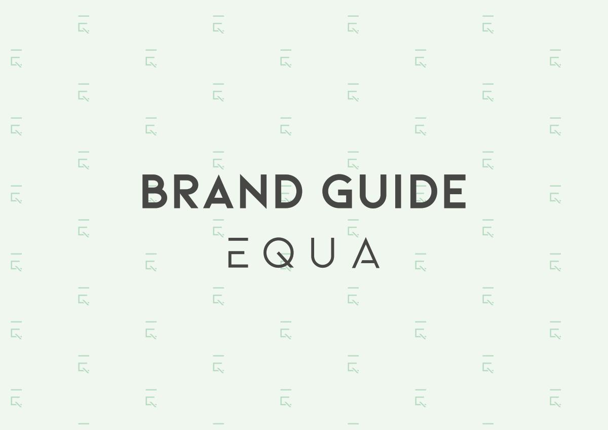 Brand Guide for EQUA