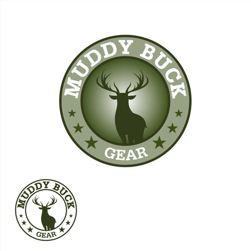 Logo design for Muddy Buck Gear