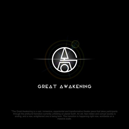Great Awakening Immersive Experience Logo Design