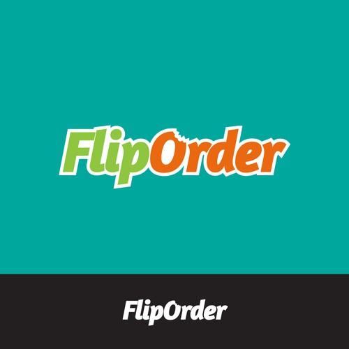 Flip Order Logo Design