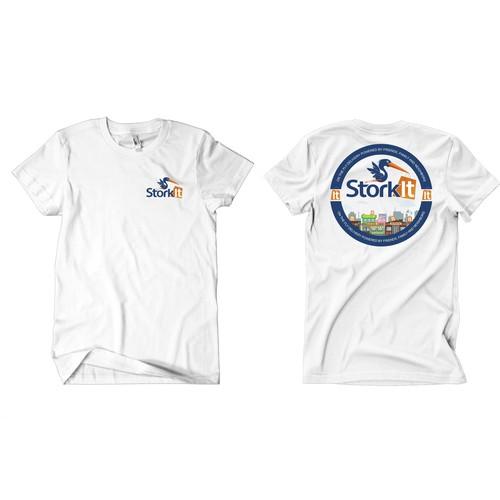 t-shirt design for StorkIt