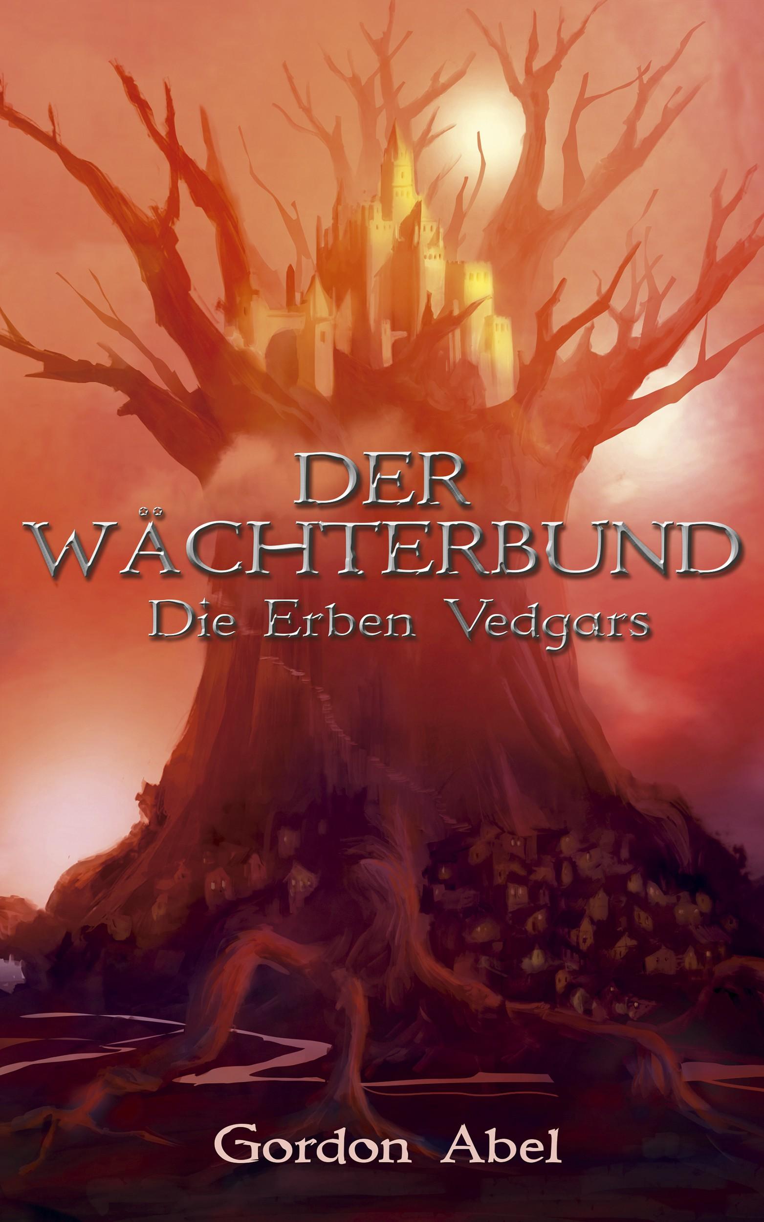 E-book-Cover for a High Fantasy novel