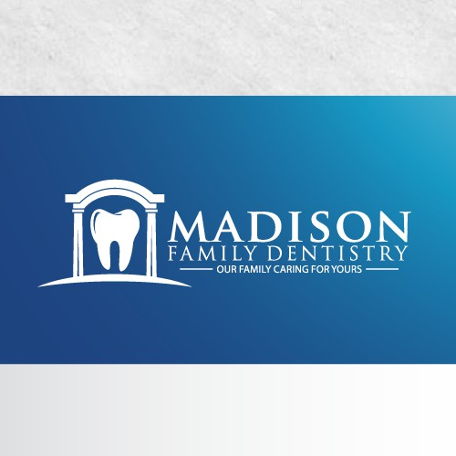 Create a stunning, head turning, classy, and unique business card and logo for a compassionate dentist in rural town. FAMILY DENTISTRY