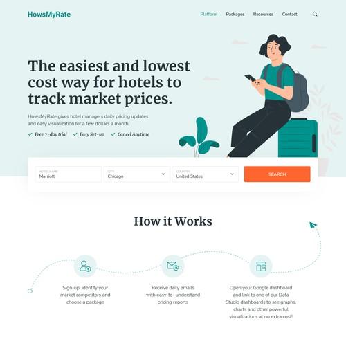 Website Design for HowsMyRate