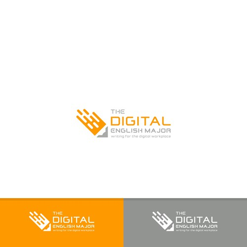 Logo for The Digital English Major