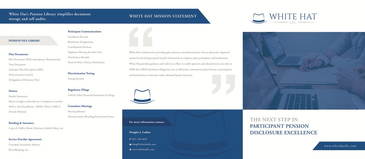 White Hat Sales Brochure