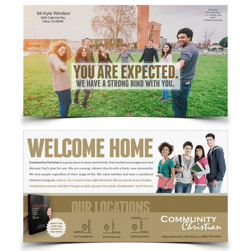 Move in Mailer for a Christian Community