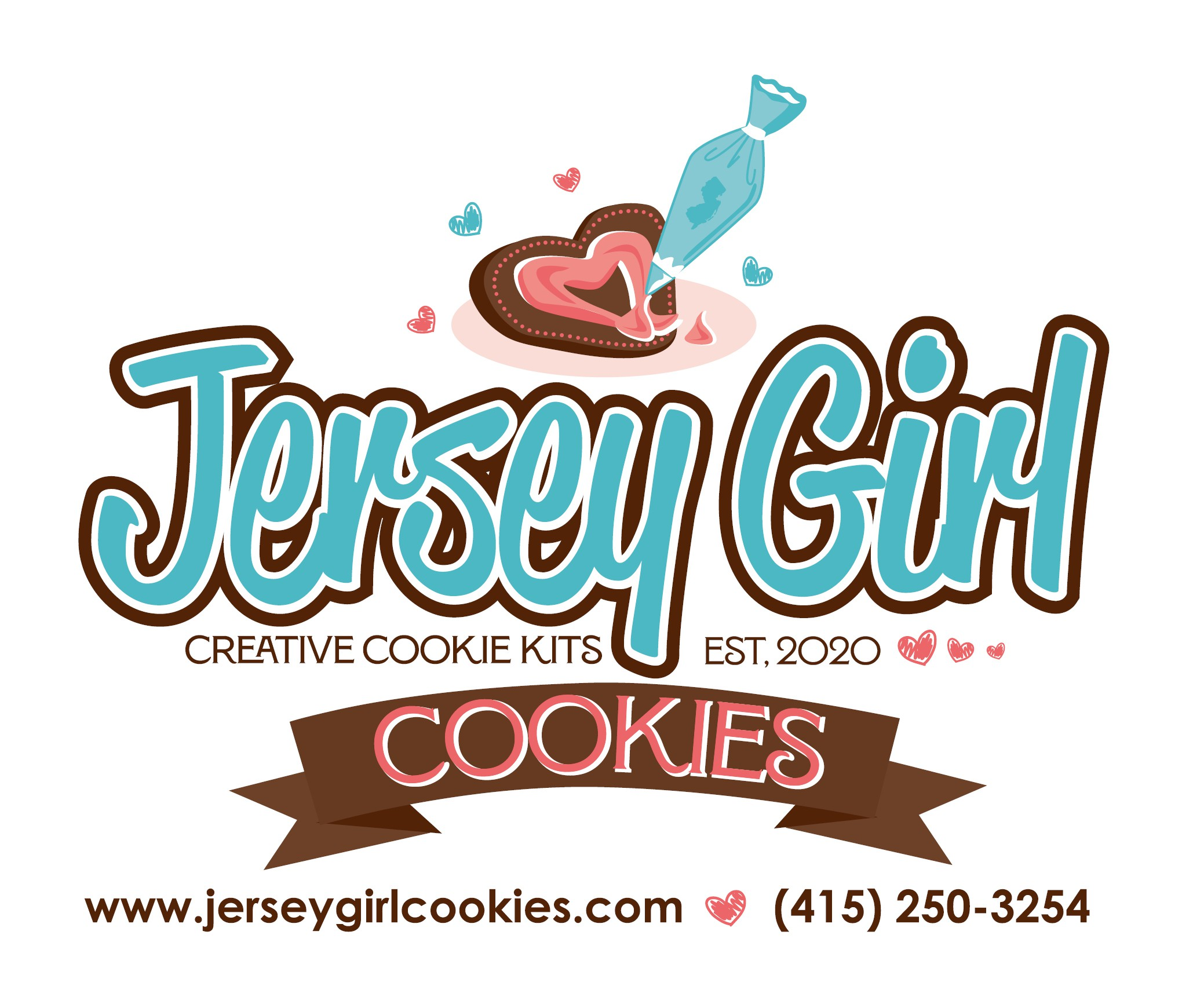 Design a logo for an artisanal cookie decorating business in the Bay Area