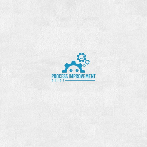 Process Improvement Guide Logo Design