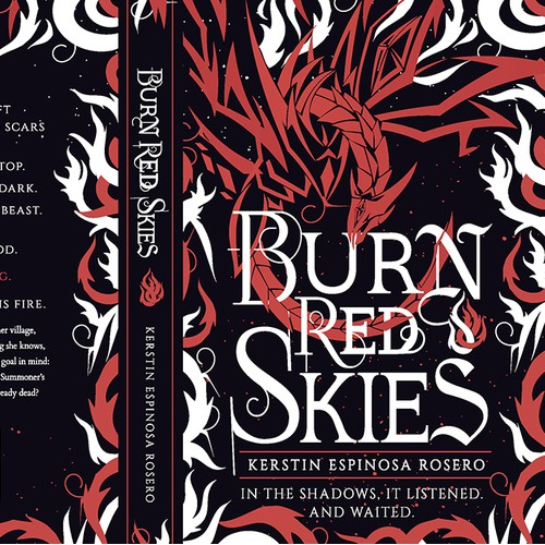 BURN RED SKIES by K.E.Rosero