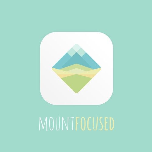 Clean and Calm app icon for Mountfocus Apps