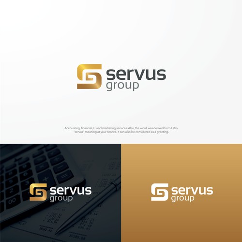 servus group needs a powerful logo to market our financial and IT services