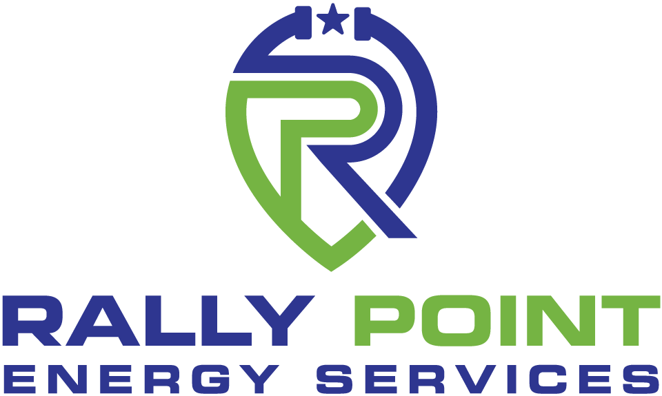 Logo Design for Rally Point Energy Services