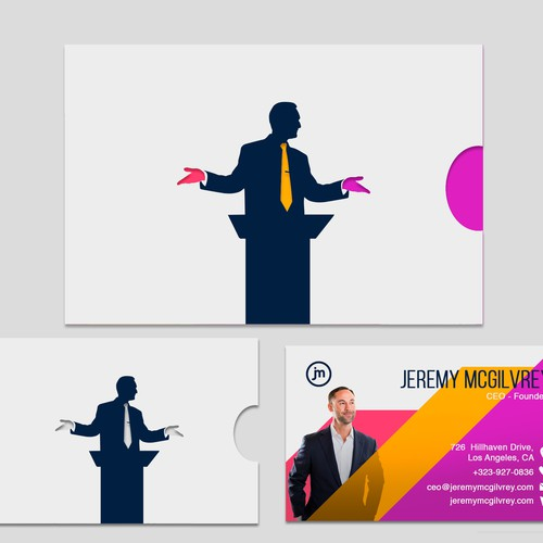 Jeremy Mcgilvrey business card