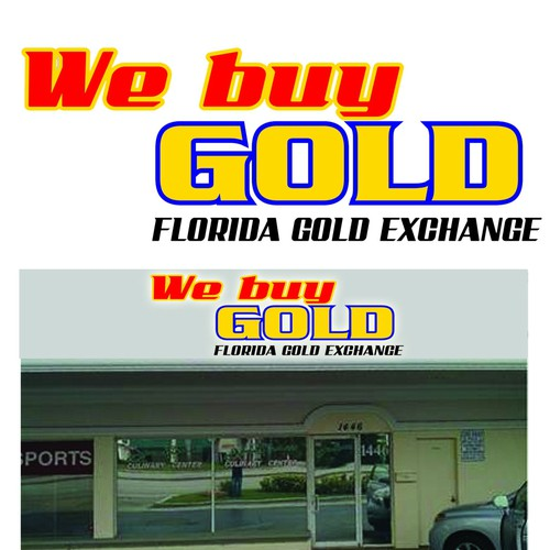 florida gold exchange signage